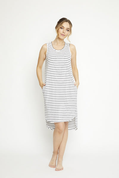Olivia dress, annukka bryon bay - organic cotton available at the white place, orange nsw
