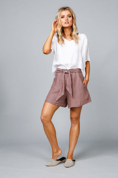 Riveria Sienna Linen shorts