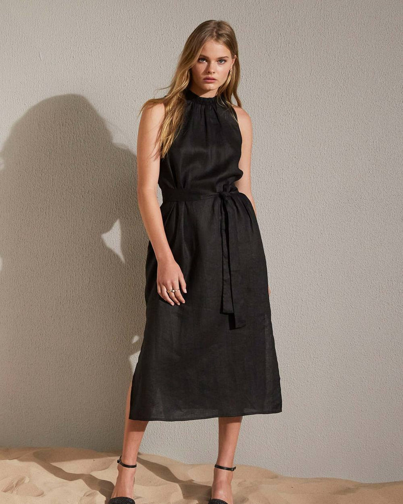 ZK Stance dress in black - free shipping