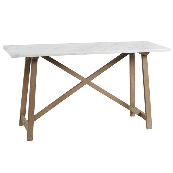 Canvas and Sasson Providence Marble Console - available at The White Place, Orange NSW