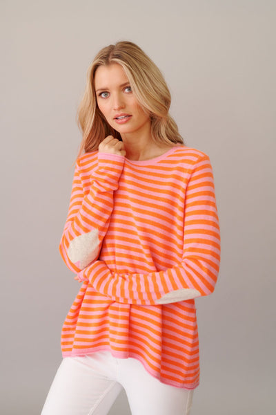 Alessandra l'amour stripe sweater