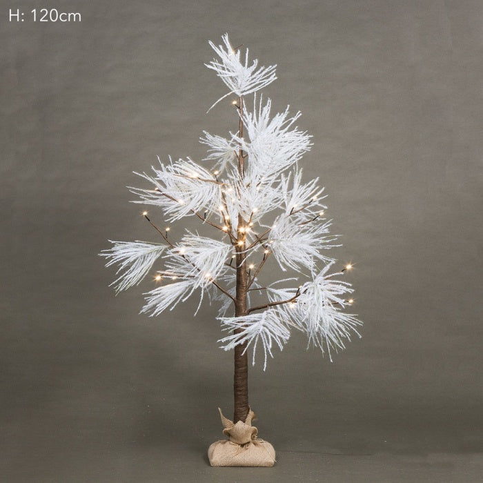 Feather Christmas tree, available in two sizes at the white place, orange nsw
