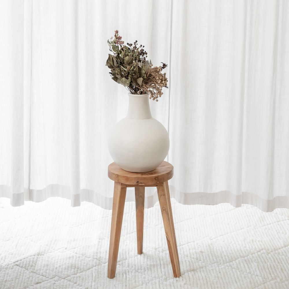 McMullin and Co Greta Vase - available at the white place, orange