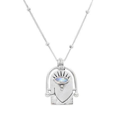 Toni May Amulet necklace - available at the white place