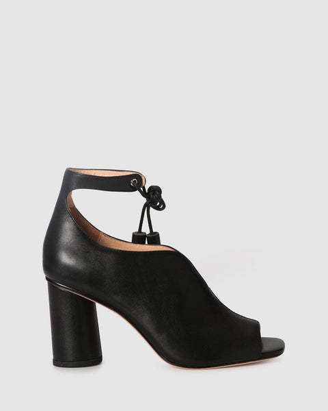 ZK quest black heel - free shipping