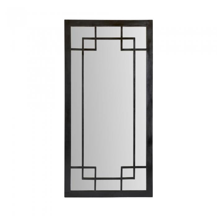 Tuscany black floor mirror available at the white place, orange nsw