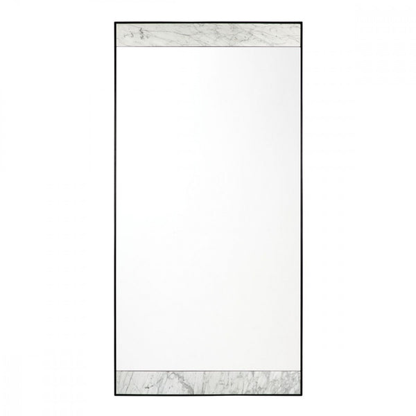 metal and marble floor mirror available at the white place, orange nsw