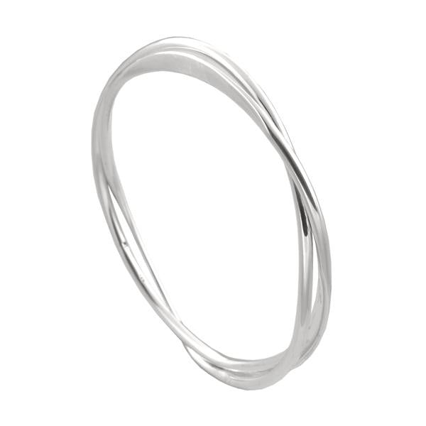 ichu sterling silver bangle - available at the white place, orange nsw