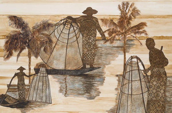 The Fisherman by Alissa Wright available at The White Place, Orange