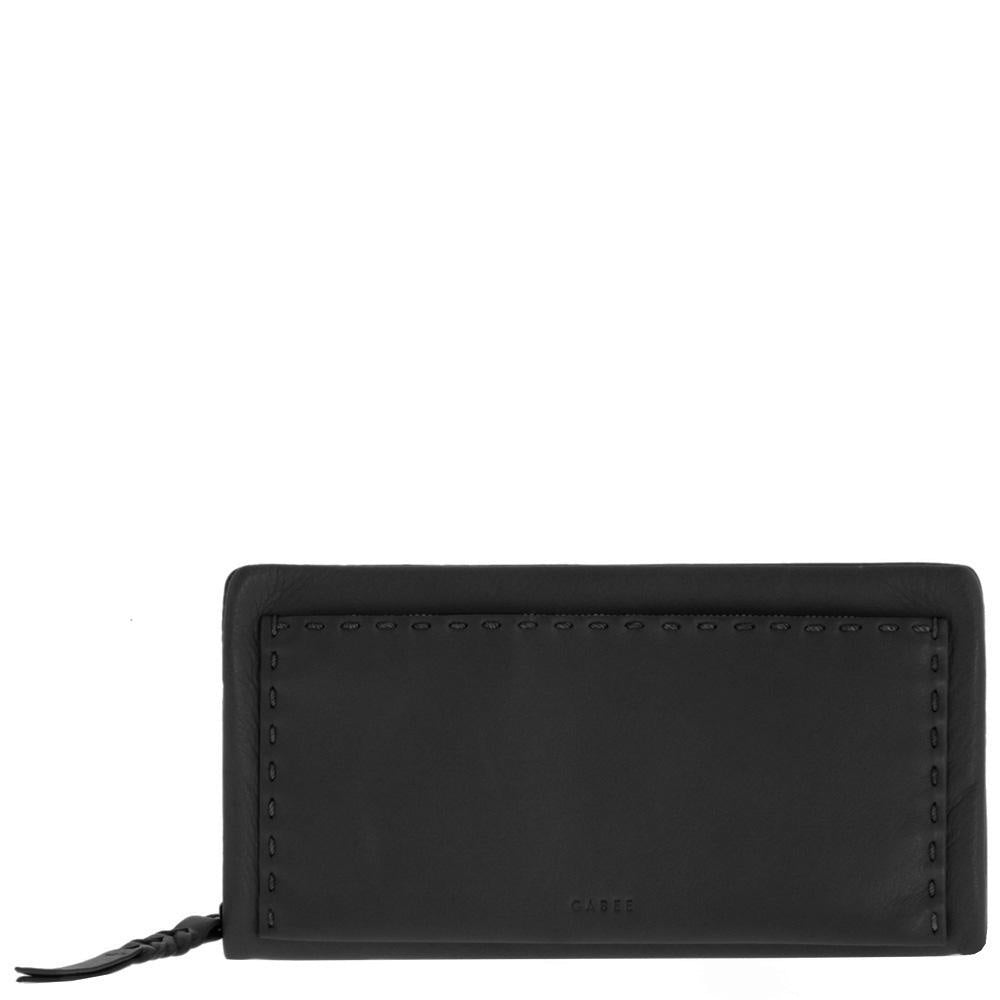 black leather wallet - free shipping in australia