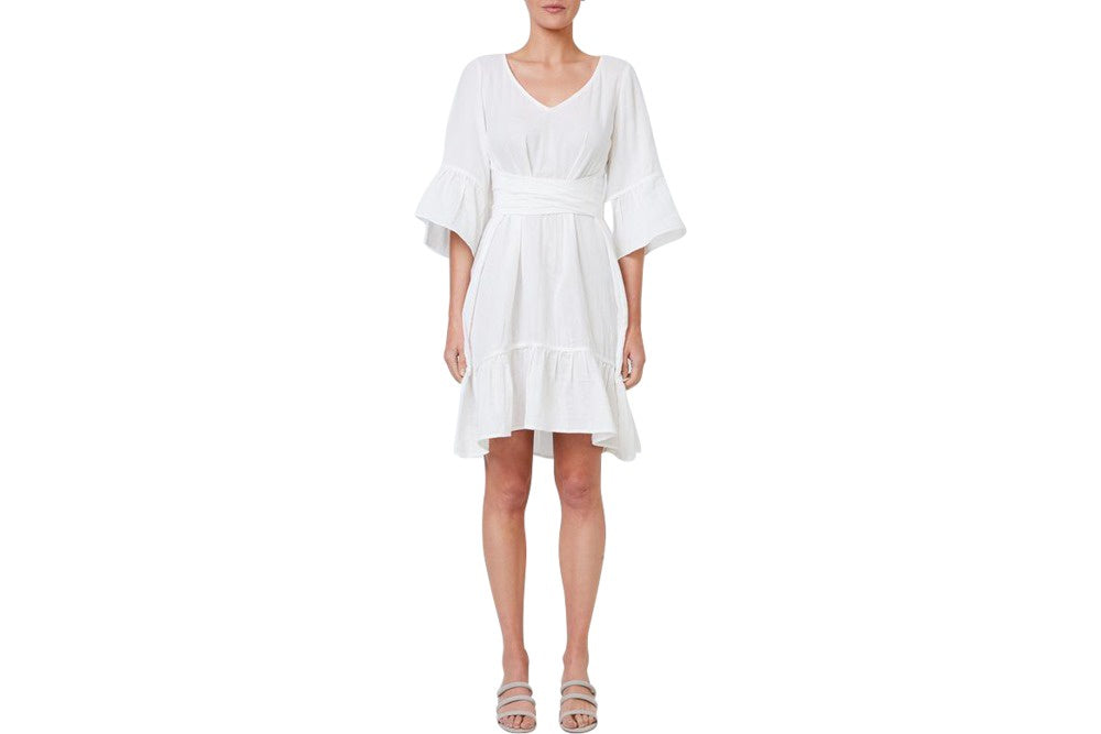 the mesop envie dress is a gorgeous summer, versatile garment. available in white and for purchase from the white place, orange nsw.  free shipping within australia