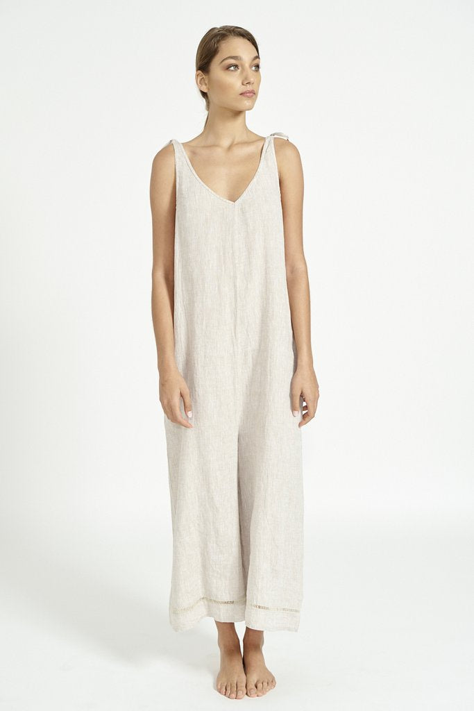 alessandra linen - jumping jack jumpsuit.  free shipping in australia