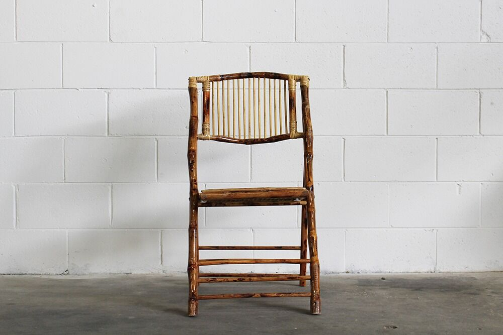 hire folding bamboo chair for wedding, reception or event in central west and orange nsw from the white place lifestyle and events