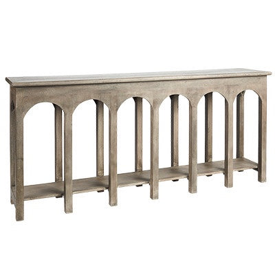 Canvas and Sasson Mayfair console - available at The White Place, Orange