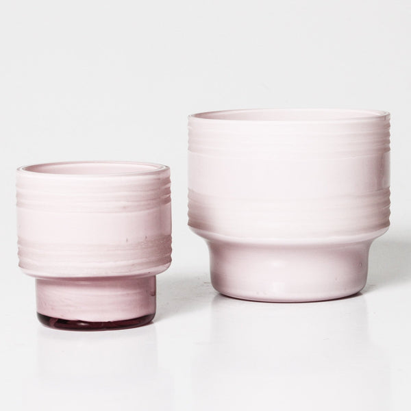 Indigo Love Collectors blush glass votive - available at the white place, orange nsw