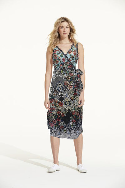 one season sunshine wrap dress - free shipping