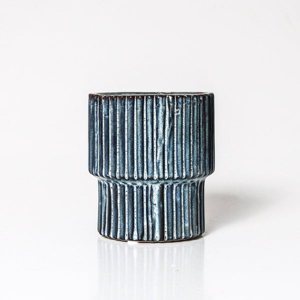 Stella planter in blue available at the white place, orange nsw