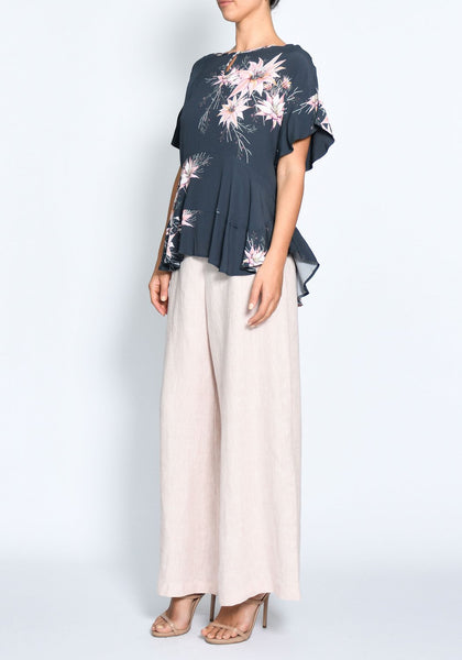 pol clothing desert flower soft top - free shipping within australia