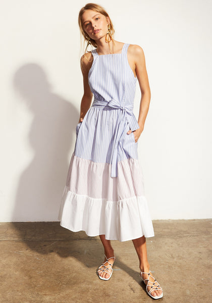 pol clothing stripe dress- free shipping