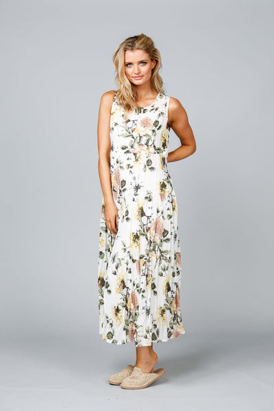 Bodi Dress in Tuscan Garden Print