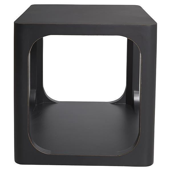 One World Hudson Black side table - available at The white place, orange NSW