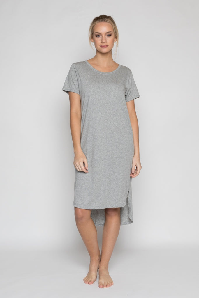 annukka byron bay daisy dress - grey, available at the white place, orange nsw. free shipping in australia