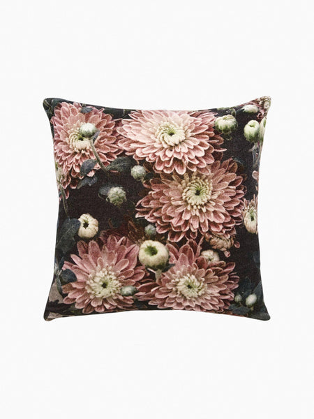 flower velvet cushion - L&M Home