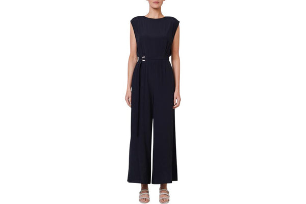 the mesop reveur jumpsuit is the perfect day to night outfit. available in black and to purchase from the white place, orange nsw. free shipping within australia