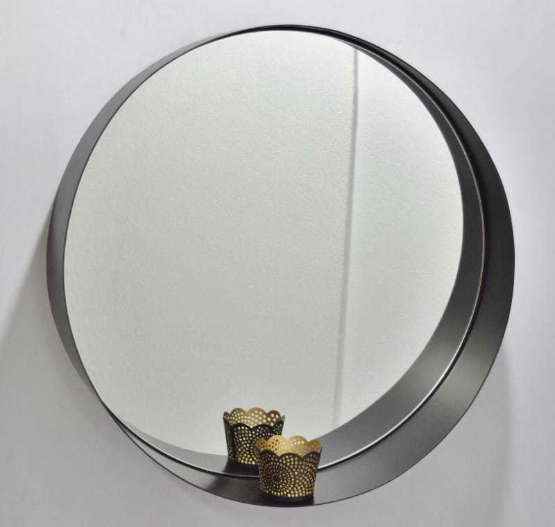 saarde black metal mirror, available at the white place, orange nsw