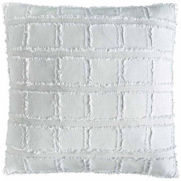 Bedu cushion - at the white place, orange