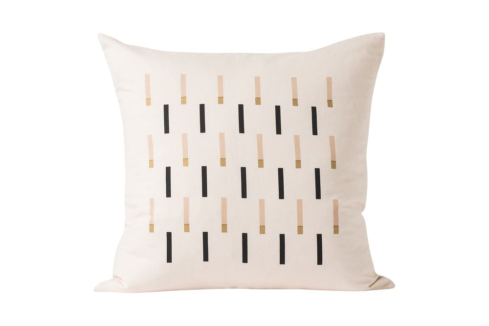 Match linen cushion - inner included 50x50