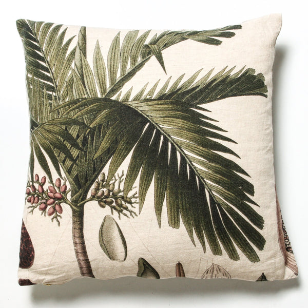 indigo love cushion - available at the white place, orange