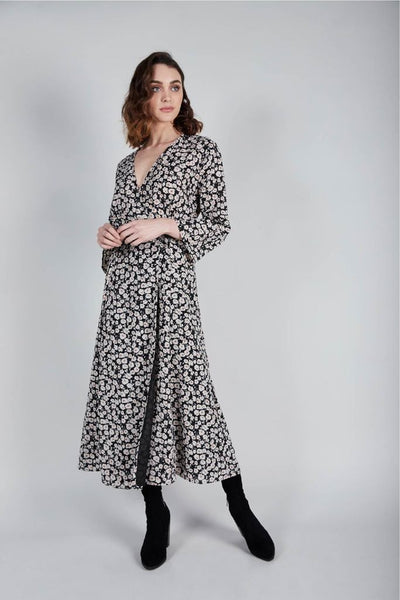 wrap dress - free shipping