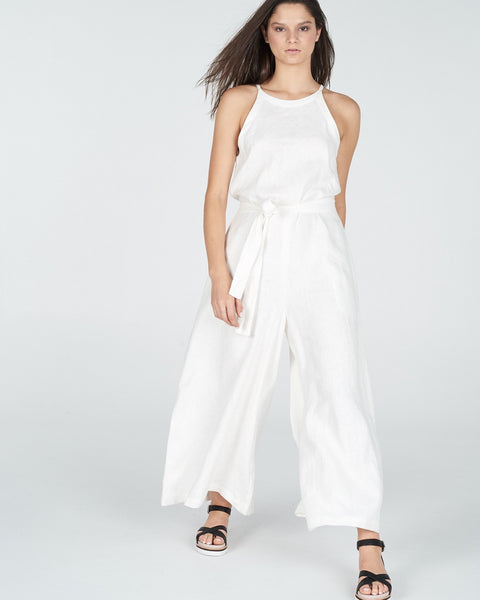 white jumpsuit - free shipping