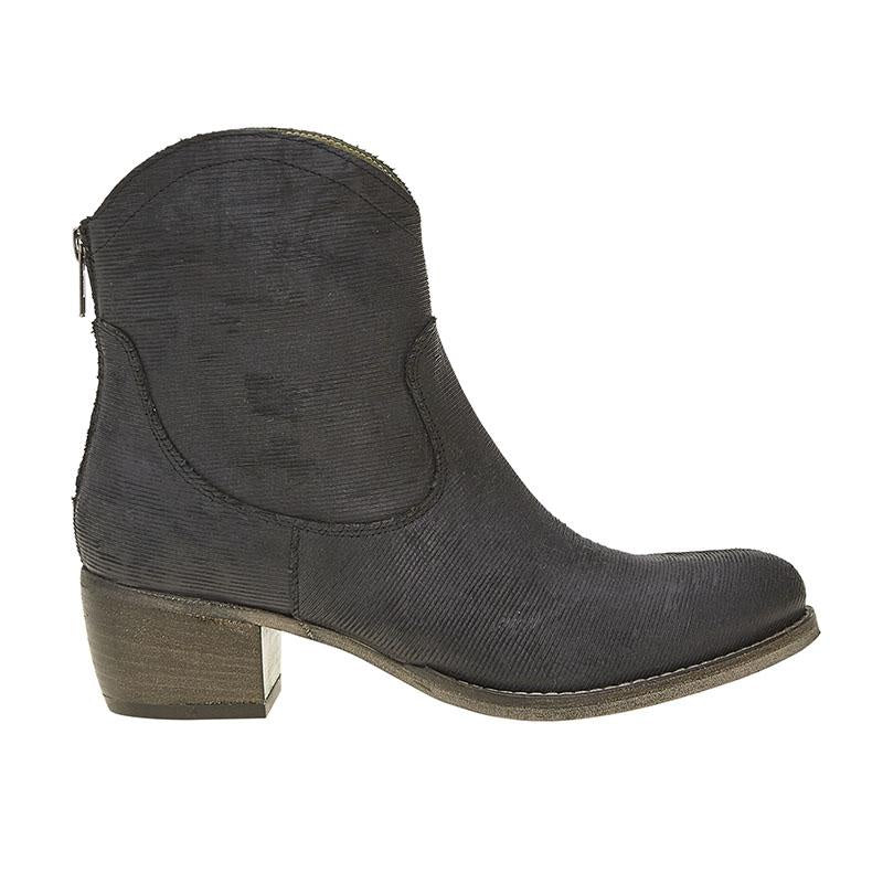 Esilo Emporio slash love zip boot in slate - available at the white place, orange nsw.  Free shipping in Australia