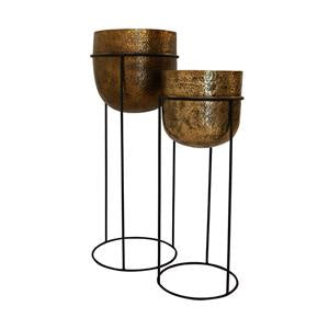 French Country brass wine bucket available at the white place, orange nsw