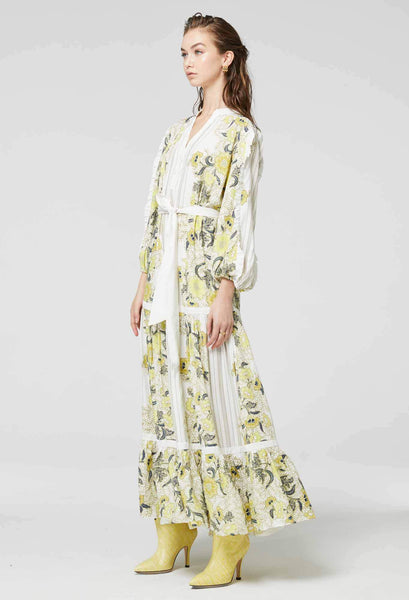Once Was Lemon maxi dress - free shipping