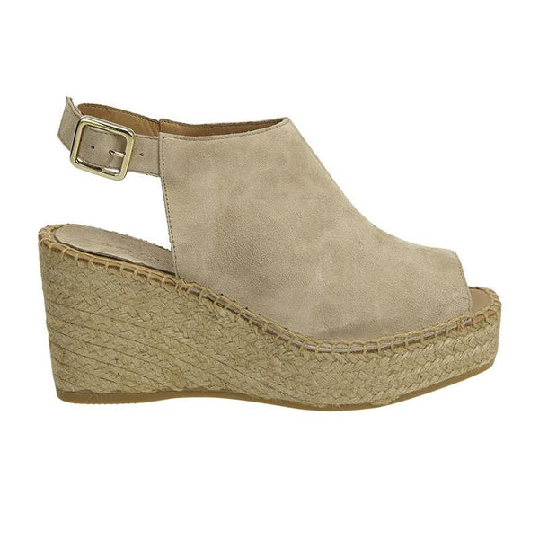 estilio emporio jagger platform espadrille sand - available at the white place, orange nsw