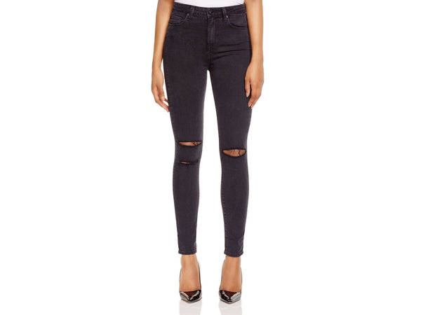 Paige Margot Super High Rise Ultra Skinny Black