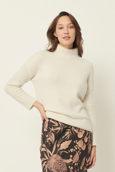 The Dreamer Label madeline fluffy knit