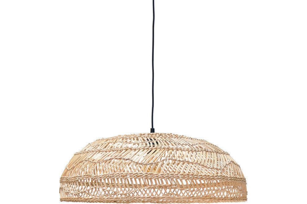 small Wicker pendant light