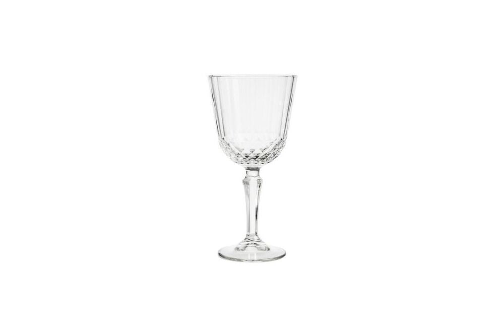 crystal cut wine glasses, glassware, stemware available for hire for weddings, events & parties in orange & central west nsw from the white place lifestyle and events