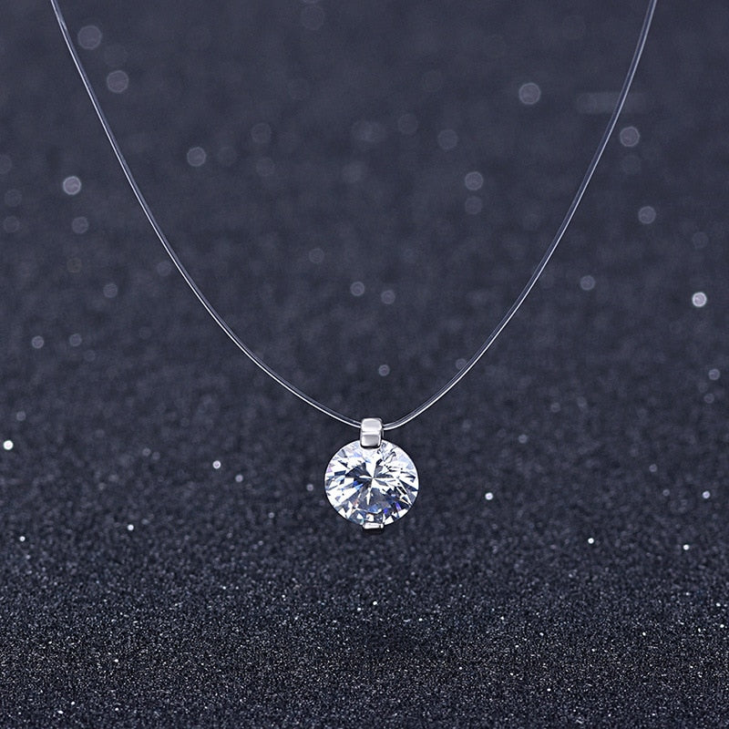 Swarovski Crystal Snowball Sterling Silver (925) Necklace - Gifts Galore Store