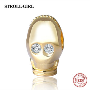 CP30 925 sterling silver beads will fit original Pandora and chamilia bracelets jewellery - Gifts Galore Store