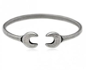 Double ended mechanics wrench mechanics spanner bracelet bangle wrist chain - Gifts Galore Store