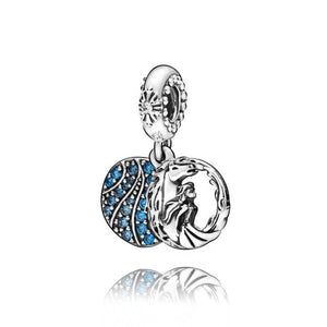 Elsa and Nokk 925 Sterling Silver Beads Charms will fit Original Pandora and Chamilia - Gifts Galore Store