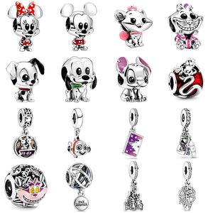 2020 Spring Series Stitch Hela Charm will fit Pandora and Chamilia Bracelet  925 Sterling Silver - Gifts Galore Store