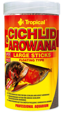Tropical Cichlid & Arowana Lge Sticks 300gm