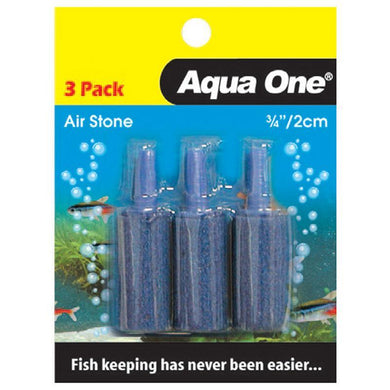 Aqua One Air Stone 3/4 Inch 2.5cm (3pk)