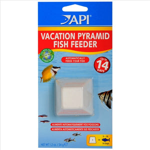 API Great Pyramid Fish Feeder Block - Up to 14 Days